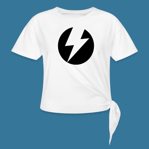 BlueSparks - Inverted - Knotted T-Shirt