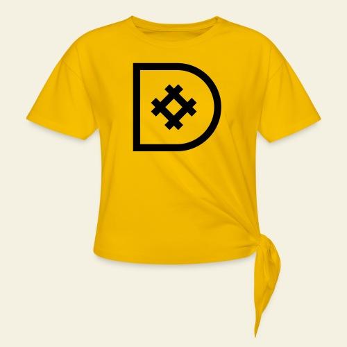 Icona de #ildazioètratto - Maglietta annodata