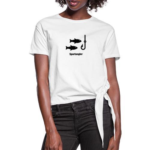 Sportangler - Frauen Knotenshirt