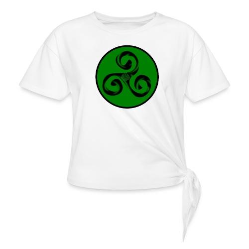 Triskel and Spiral - Camiseta con nudo