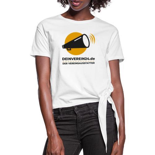 deinverein24 - Frauen Knotenshirt