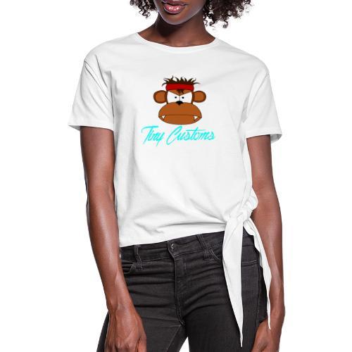 Tiny Customs - T-shirt med knut