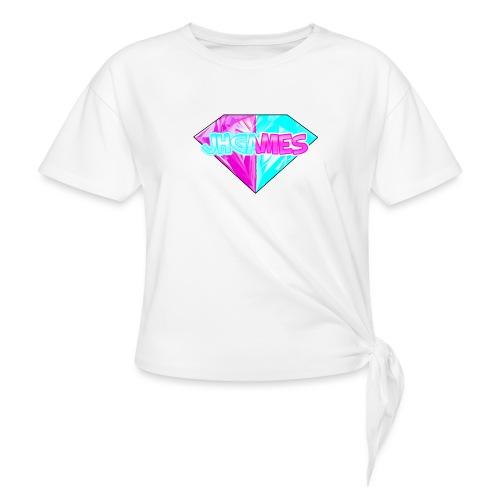 JHGAMES Shirt met logo - Geknoopt shirt