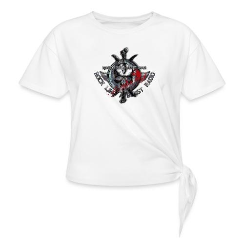Blood Skull Logo - T-shirt med knut