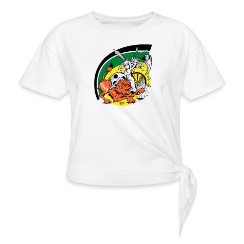fortunaknvb - Vrouwen Geknoopt shirt