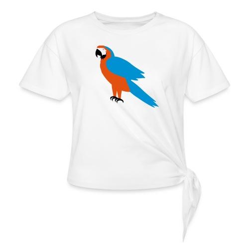 Parrot - Maglietta annodata da donna