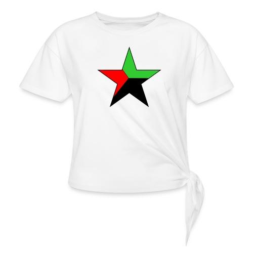 etoile martinique - T-shirt à nœud