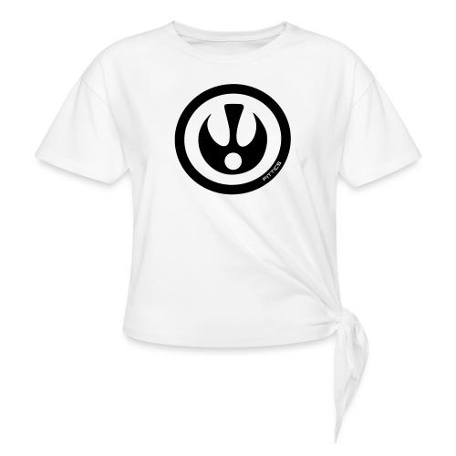 FITTICS SHIELD White - Knotted T-Shirt