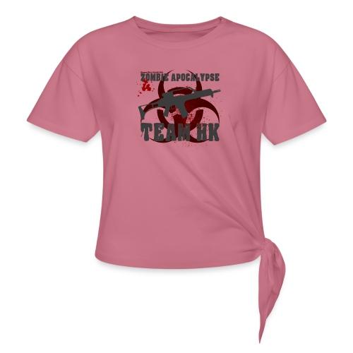 Zombie Apocalypse Team H&K - Frauen Knotenshirt