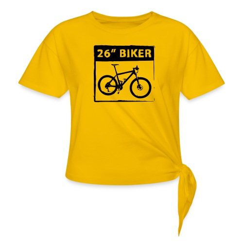 26 Biker - 1 Color - Frauen Knotenshirt