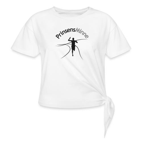 PrinsensMinne logga - T-shirt med knut dam