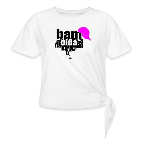 bam oida bam - Frauen Knotenshirt