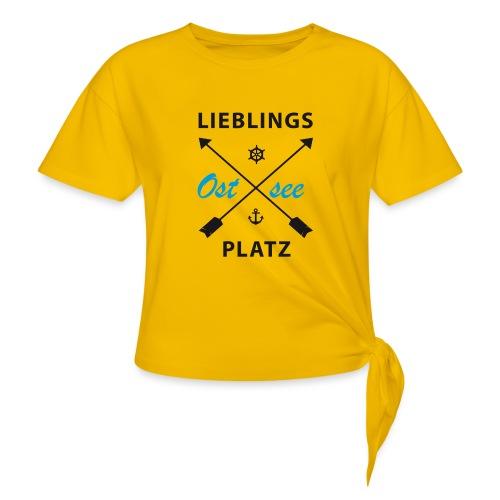 Lieblingsplatz Ostsee - Knotenshirt