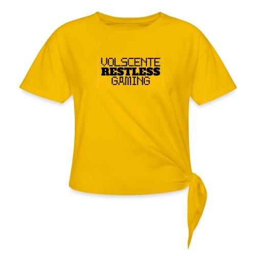 Volscente Restless Logo B - Maglietta annodata da donna