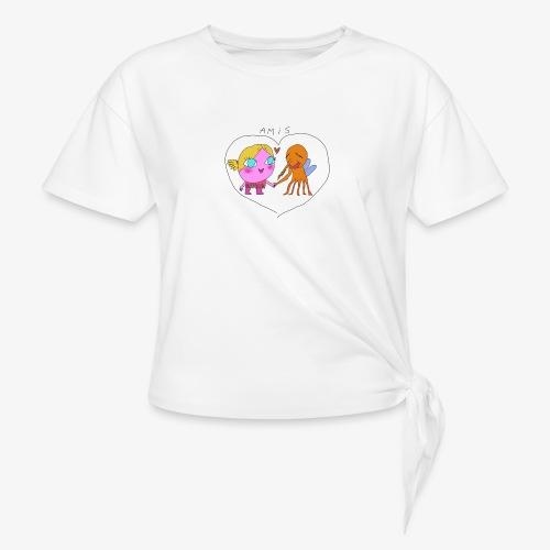 les meilleurs amis - T-shirt à nœud