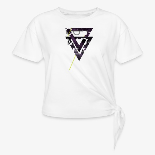 Cosmicleaf Triangles - Knotted T-Shirt