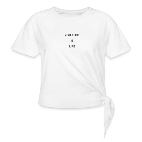 1520942615198 - T-shirt med knut dam