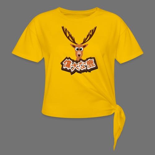Suuri hirvi (Japani 偉大 な 鹿) - Naisten solmupaita