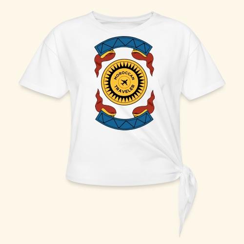 Moroccan Traveler - T-shirt à nœud