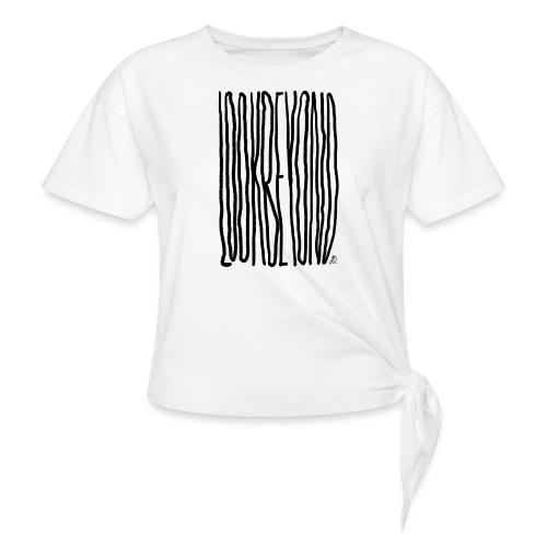 Look Beyond - Dame knot-shirt
