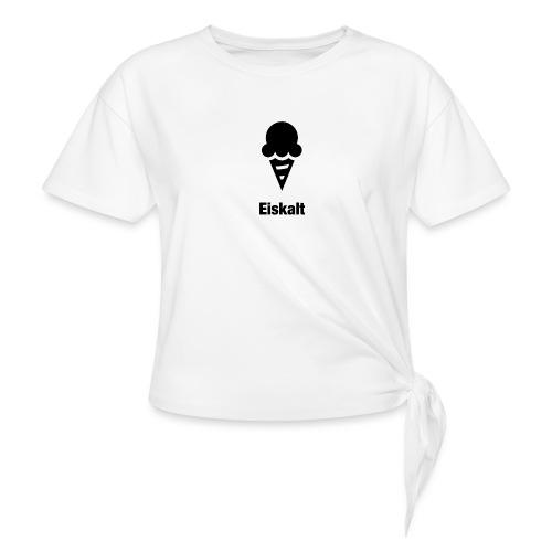 Eiskalt - Frauen Knotenshirt