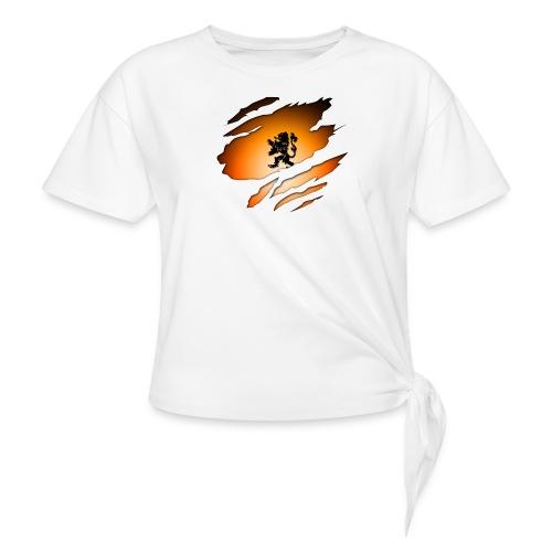 Dutch Inside: Leeuw - Geknoopt shirt