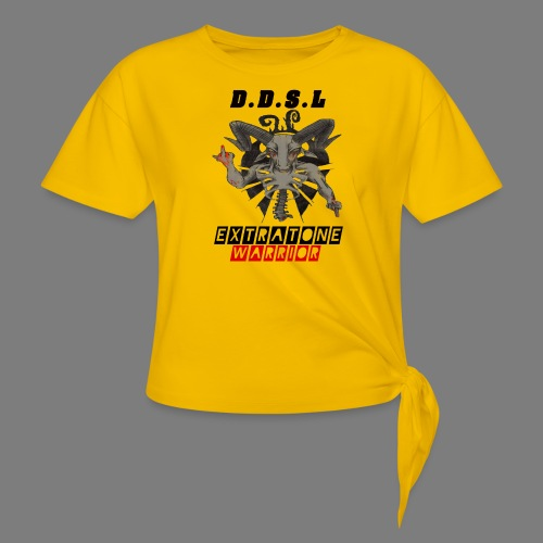DDSL E W M.A.X - Vrouwen Geknoopt shirt