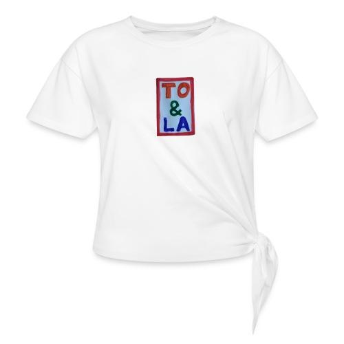 TO & LA - Koszulka z wiązaniem