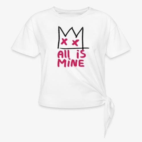 Sick Boy all is mine - T-shirt à nœud