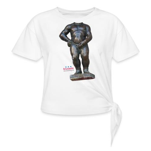 mannekenpis Real Big ♀♂   撒尿小童 - T-shirt à nœud