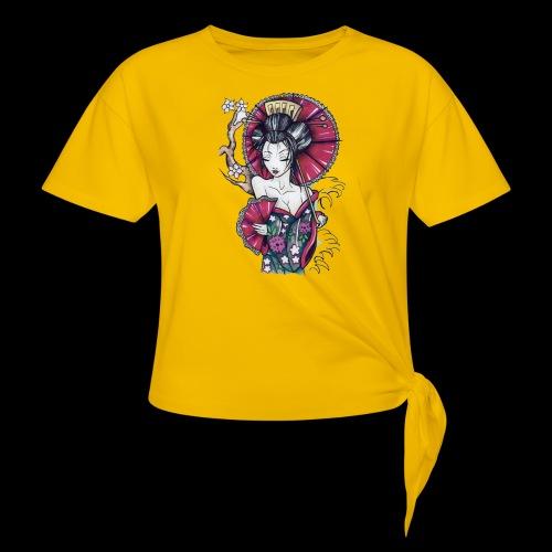 Geisha2 - Maglietta annodata da donna