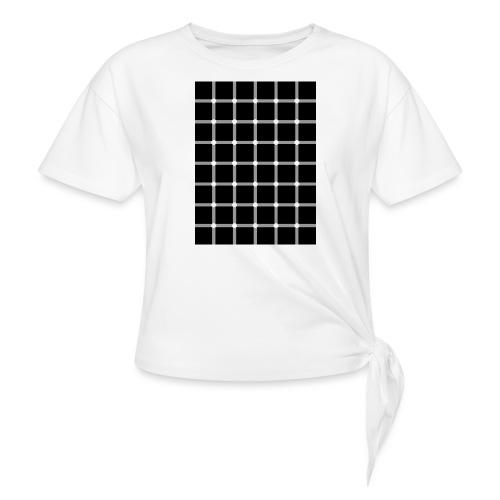 spikkels - Vrouwen Geknoopt shirt