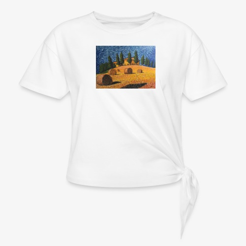 tuscany - Knotted T-Shirt