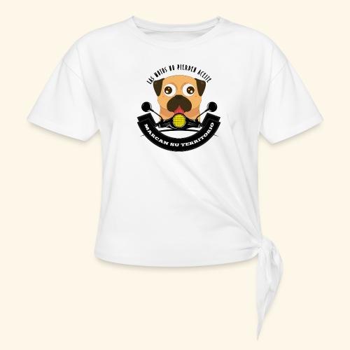 Territorio Perruno - Camiseta con nudo mujer