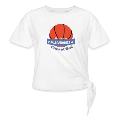 logo speadshirt - T-shirt à nœud