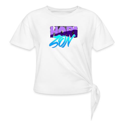 Horizon - T-shirt à nœud