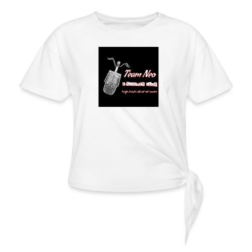 Neo Scooter Club - T-shirt à nœud