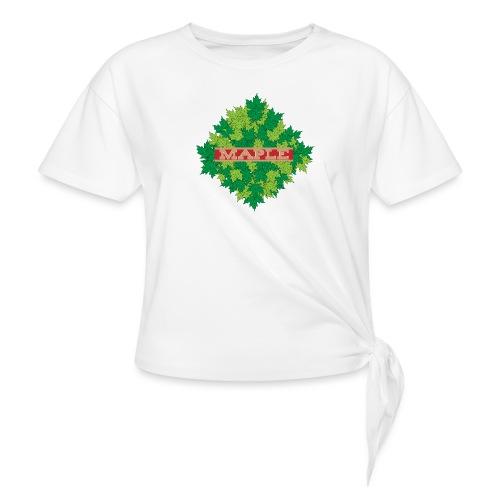 maple - Knotenshirt