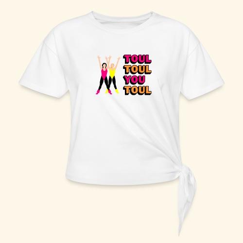 Toul Toul You Toul - T-shirt à nœud