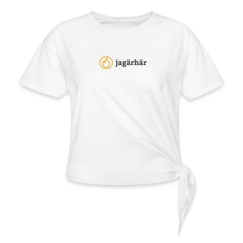 #jagärhär - T-shirt med knut dam
