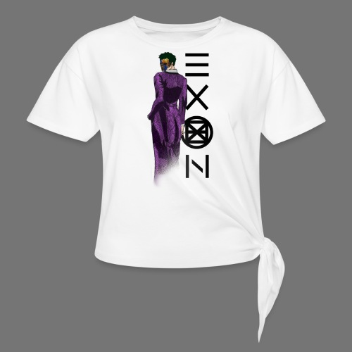 Emotionless Passion Exon - Knotted T-Shirt