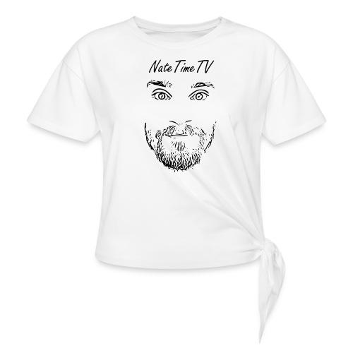 nttvfacelogo2 cheaper - Knotted T-Shirt