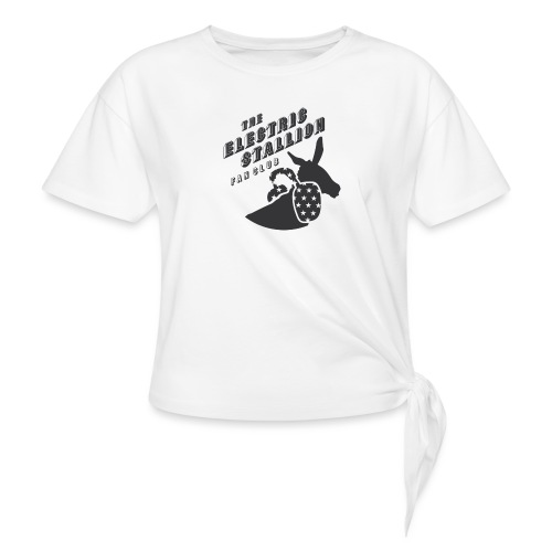 stallion badges - Knotted T-Shirt
