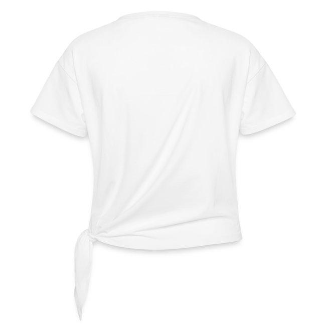 Vorschau: ohne KATZENHAARE ist man nicht richtig angezogen - Frauen Knotenshirt