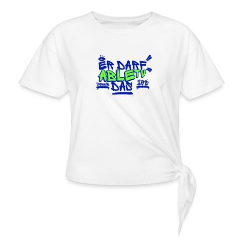 AbleTV Grafitti Logo Marken Shirt (Er Darf Das) - Knotenshirt