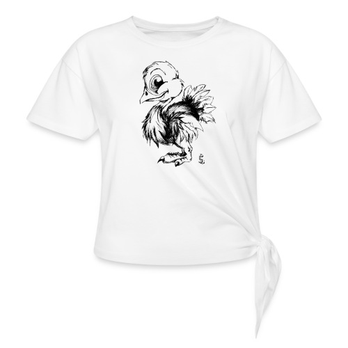 Autruchon - T-shirt à nœud