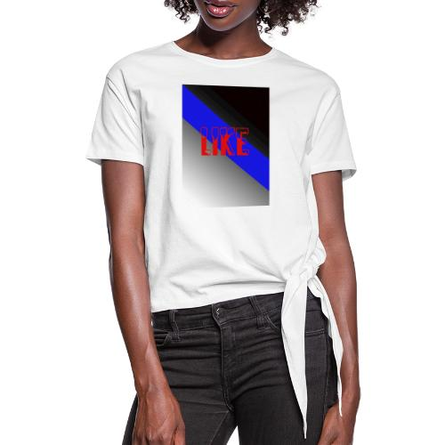 like - T-shirt à nœud