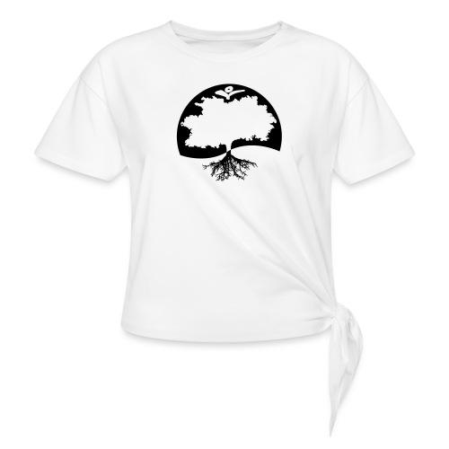 Naturals Logo Grafik - Frauen Knotenshirt