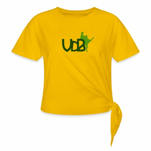 VdB green - Maglietta annodata da donna