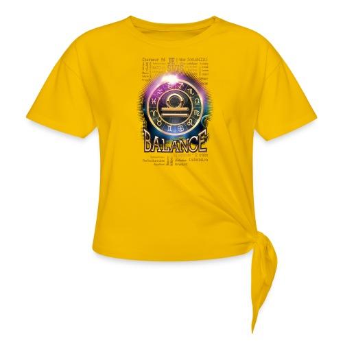 BALANCE - T-shirt à nœud Femme